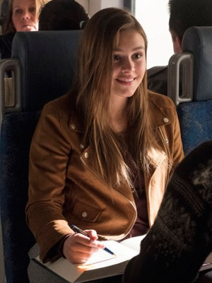 Taken Celeste Desjardins Brown Jacket