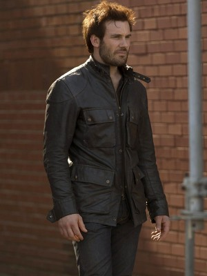 Bryan Mills Taken Leather Jacket