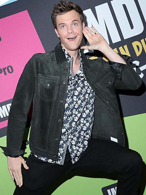 The Boys Jack Quaid Suede Leather Jacket