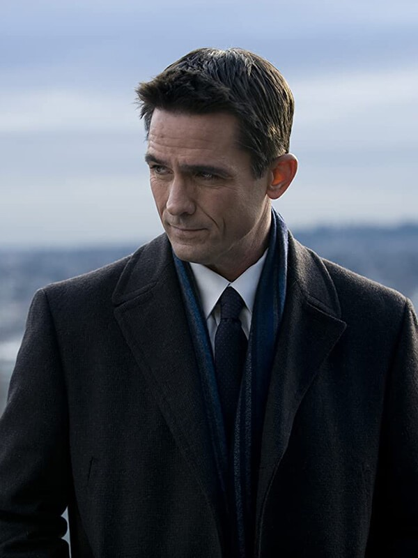 The Killing Billy Campbell Coat