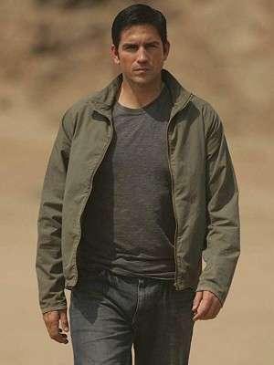 The Prisoner Series Jim Caviezel Lightweight Jacket