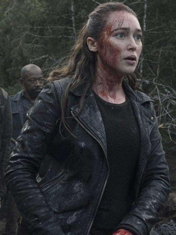 The Walking Dead Alycia Debnam-Carey Jacket
