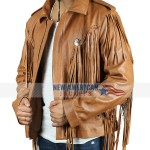 Tiger King Murder Mayhem and Madness EMS Joe Exotic Cowboy Brown Jacket