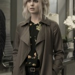 Trench Cotton Coat worn by Rose McIver in Tv Series iZombie