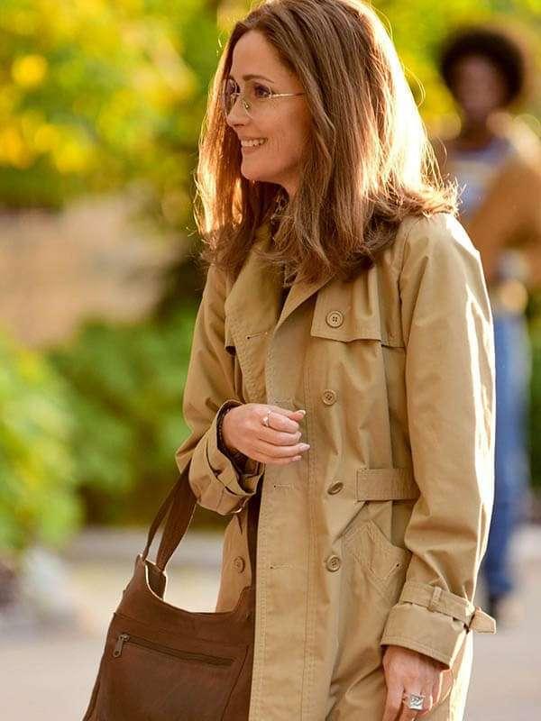 Tv Series Mrs. America Gloria Steinem Brown Coat