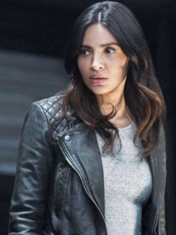 Tv Series Supergirl Maggie Sawyer Motorcycle Leather Jacket