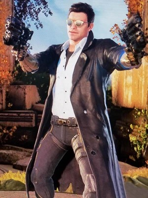 Paragon Shooter Twinblast Leather Coat