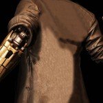 Twinblast Paragon Shooter Black Trench Leather Coat