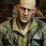 Uncharted 4 A Thief's End Charlie Cutter Black Leather Jacket