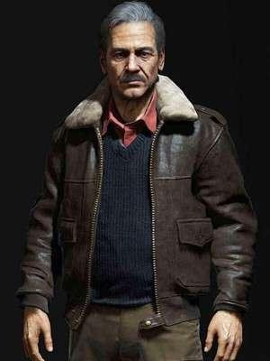 Victor Sullivan Uncharted 4 Leather Jacket