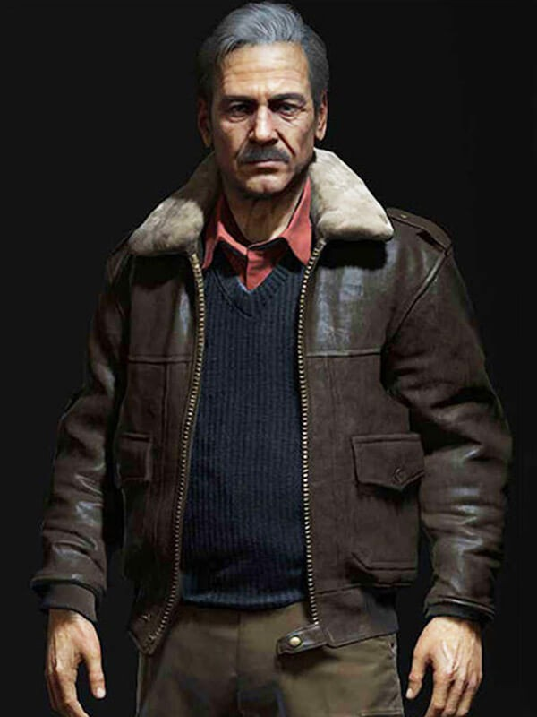 Victor Sullivan Uncharted 4 Game Leather Jacket