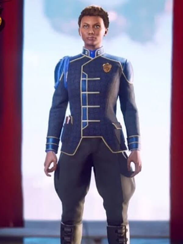 Videogame The Outer Worlds Blue Sophia Akande Jacket