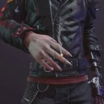 Zane Devon Video Game Cyberpunk 2077 Dracula Leather Jacket