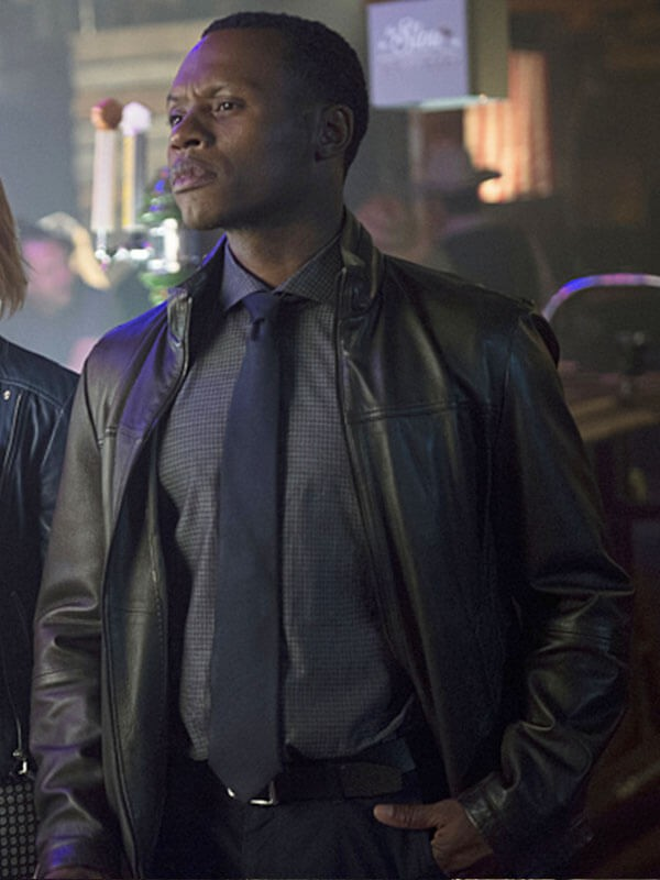 iZombie Malcolm Goodwin Brown Leather Jacket