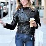 Ashley Greene Black Jacket