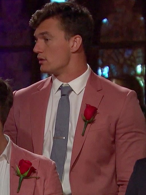 Bachelorette Tyler Cameron Salmon Suit Jacket