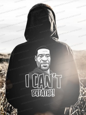 I can't breathe George Floyd Hoodie