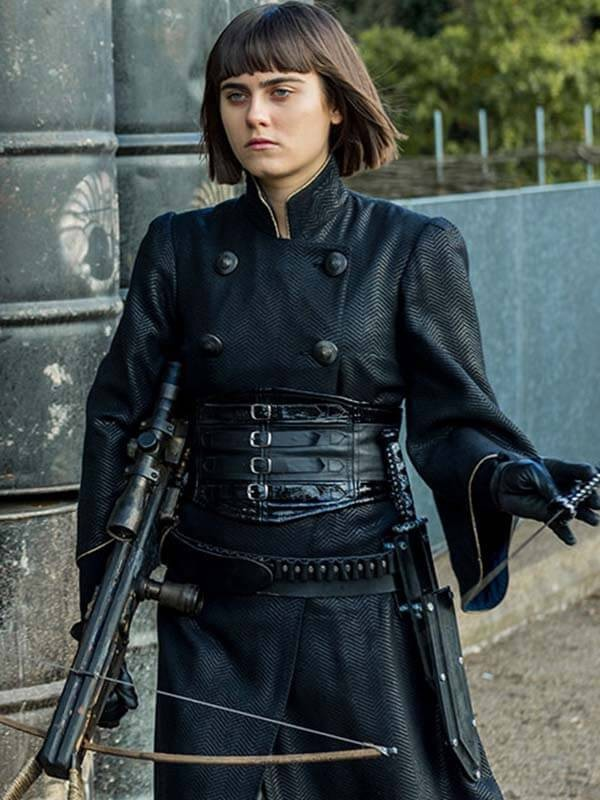 Into the Badlands Ally Ioannides Coat