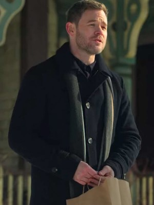 Aaron Ashmore TV Series Locke and Key Trench Coat