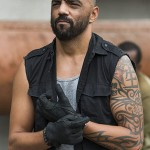 Mike Seal The Walking Dead Black Vest