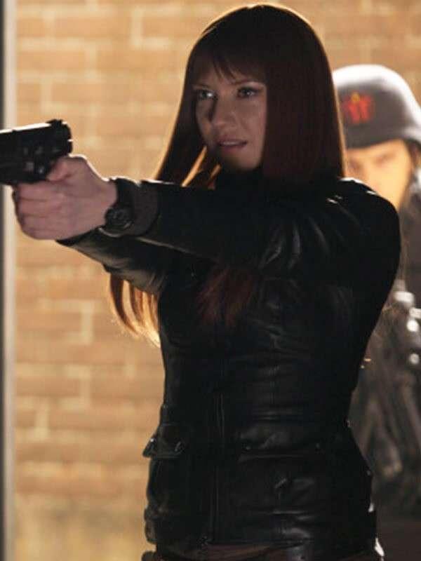 Olivia Dunham Fringe Jacket