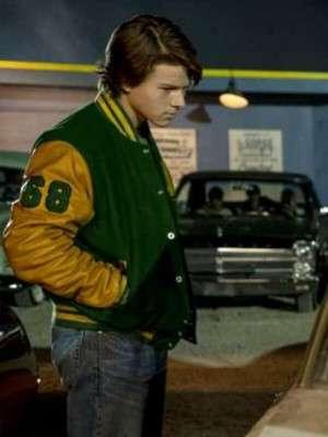 Austin Abrams Scary Stories Varsity Jacket