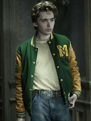 Tommy Milner Scary Stories Letterman Jacket