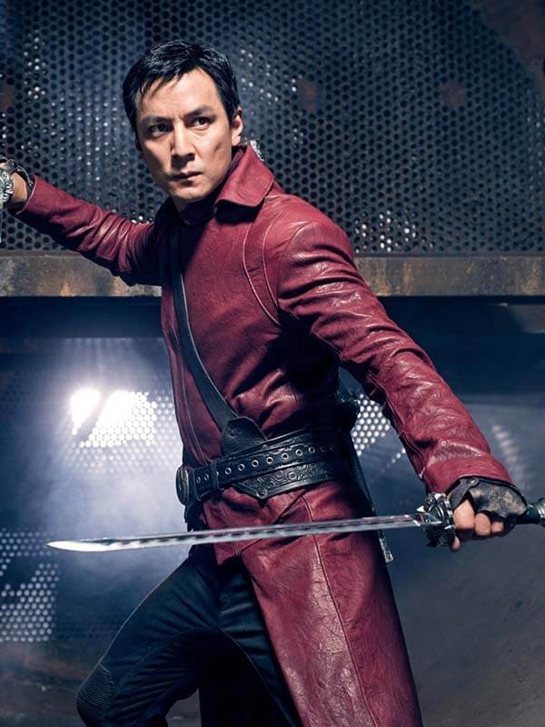 Sunny Into the Badlands Leather Coat