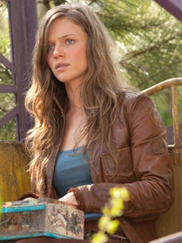 Tracy Spiridakos Revolution Brown Jacket for Women