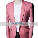 Tyler Cameron Salmon Blazer Jacket