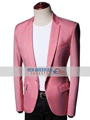 Bachelorette Tyler Cameron Salmon Blazer Jacket