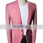 Tyler Cameron Salmon Suit Blazer Jacket