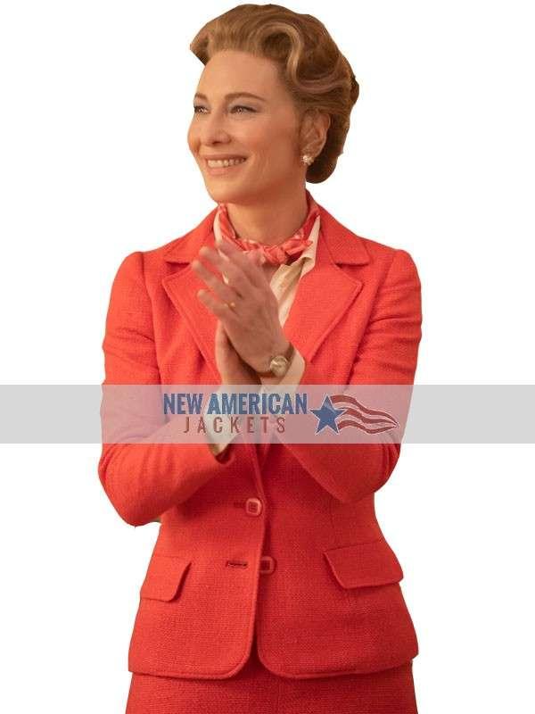 cate blanchett mrs america blazer suit
