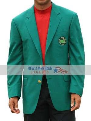 tiger woods masters green jacket