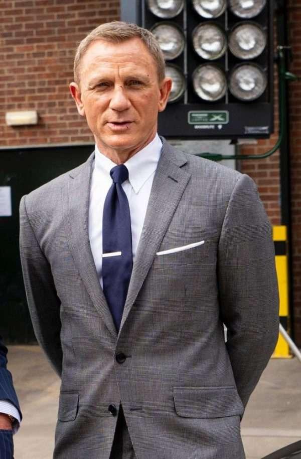 no time to die james bond grey suit