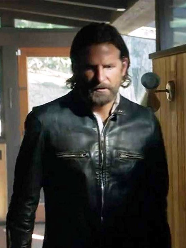 A Star is Born Jackson Maine Leather Jacket