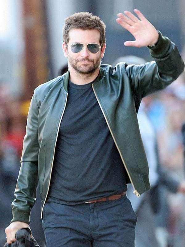 Bradley Cooper Green Jacket for Mens