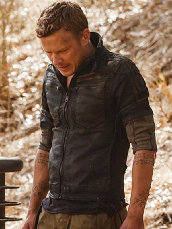 Dominion Christopher Egan Leather Jacket