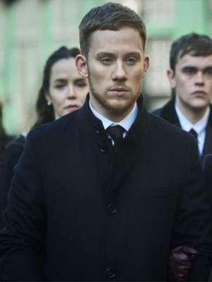 Gangs of London Joe Cole Black Wool Coat