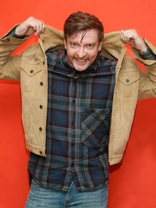 Hunt for the Wilderpeople Rhys Darby Leather Jacket