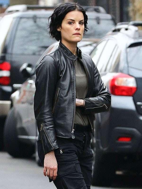 Jane Doe Blindspot Black Jacket