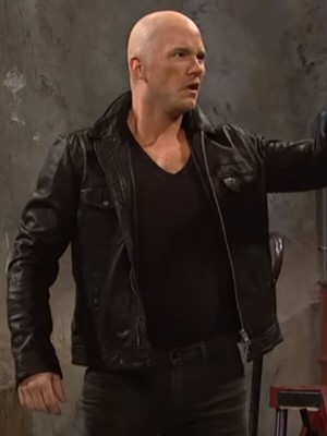 Chris Pratt Jason Statham Ad Black Leather Jacket