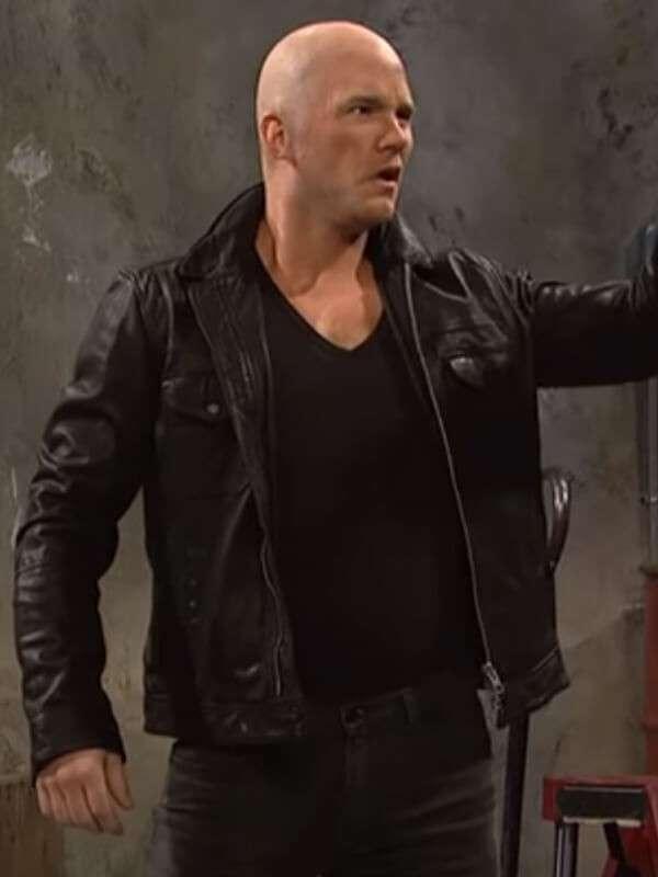 Jason Statham Ad Chris Pratt Black Jacket