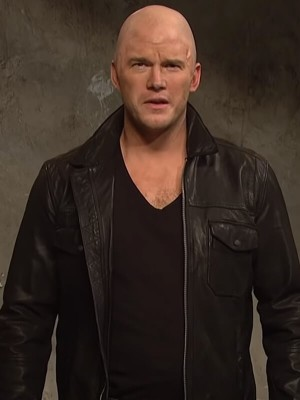 Chris Pratt Jason Statham Ad Black Jacket