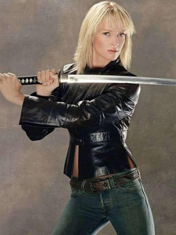 Kill Bill Vol. 2 Uma Thurman Leather Jacket