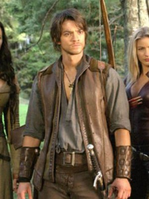 Craig Horner Legend of the Seeker Brown Vest