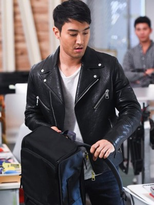 Singer Choi Siwon Leather Jacket