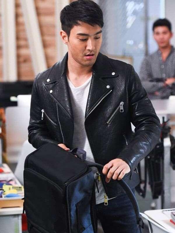 Singer Choi Siwon Black Jacket