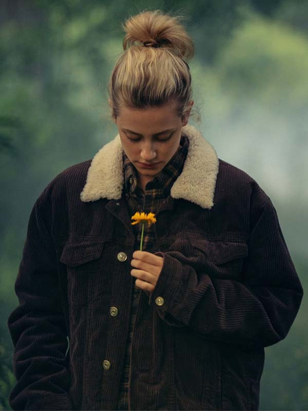 Lili Reinhart Chemical Hearts Corduroy Jacket