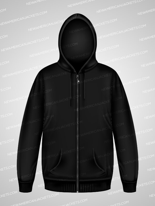 I Can't Breathe Casual Black Hooded